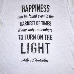 Harry Potter | NWT Inspirational Tee Sz L